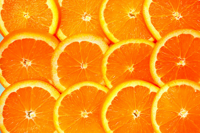 Oranges - a mood-boosting food